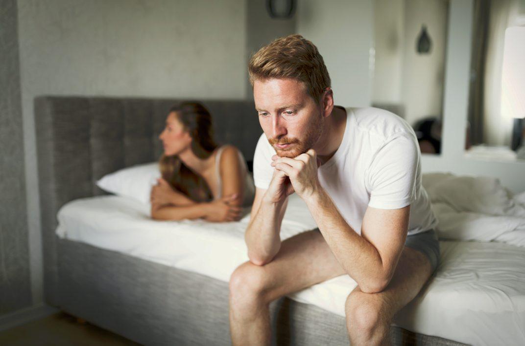 彼氏がSEX中に中折れ!?考えられる原因と女性にできる中折れ対処法を解説!